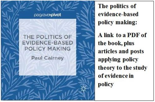 Political Science Paul Cairney Politics Public Policy