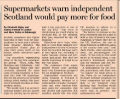 FT story supermarkets 9.12.13