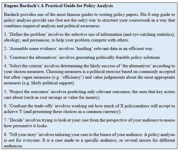 public policy essay pdf