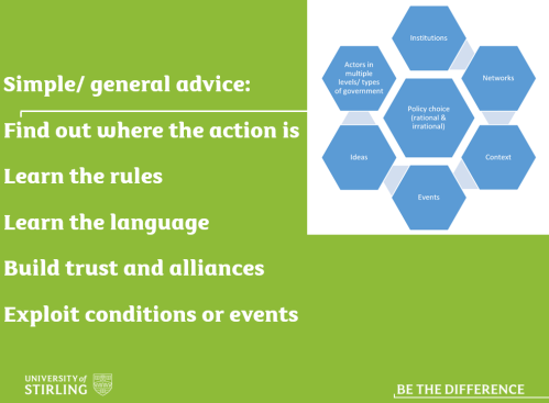 Evidence Based Policymaking (EBPM) | Paul Cairney: Politics & Public