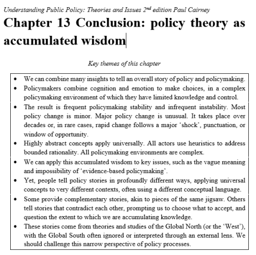 conclusion box